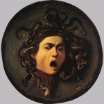 Caravaggio-Medusa Dipinti