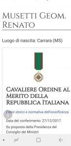 Cavaliere-Musetti-Renato
